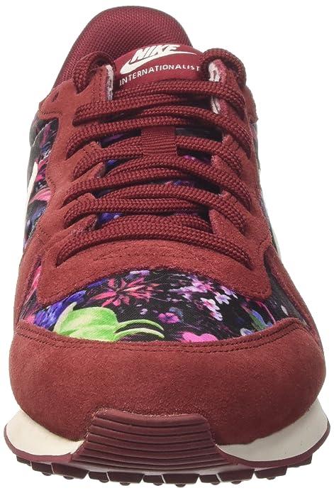 size 40 edb9c cf126 Nike W Internationalist PRM, Zapatillas para Mujer, Rojo Sail Team Red, 40  EU  Amazon.es  Zapatos y complementos
