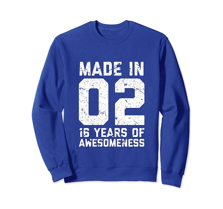16th Birthday Sweatshirt Gift Girl Boy Age 16 Year Old