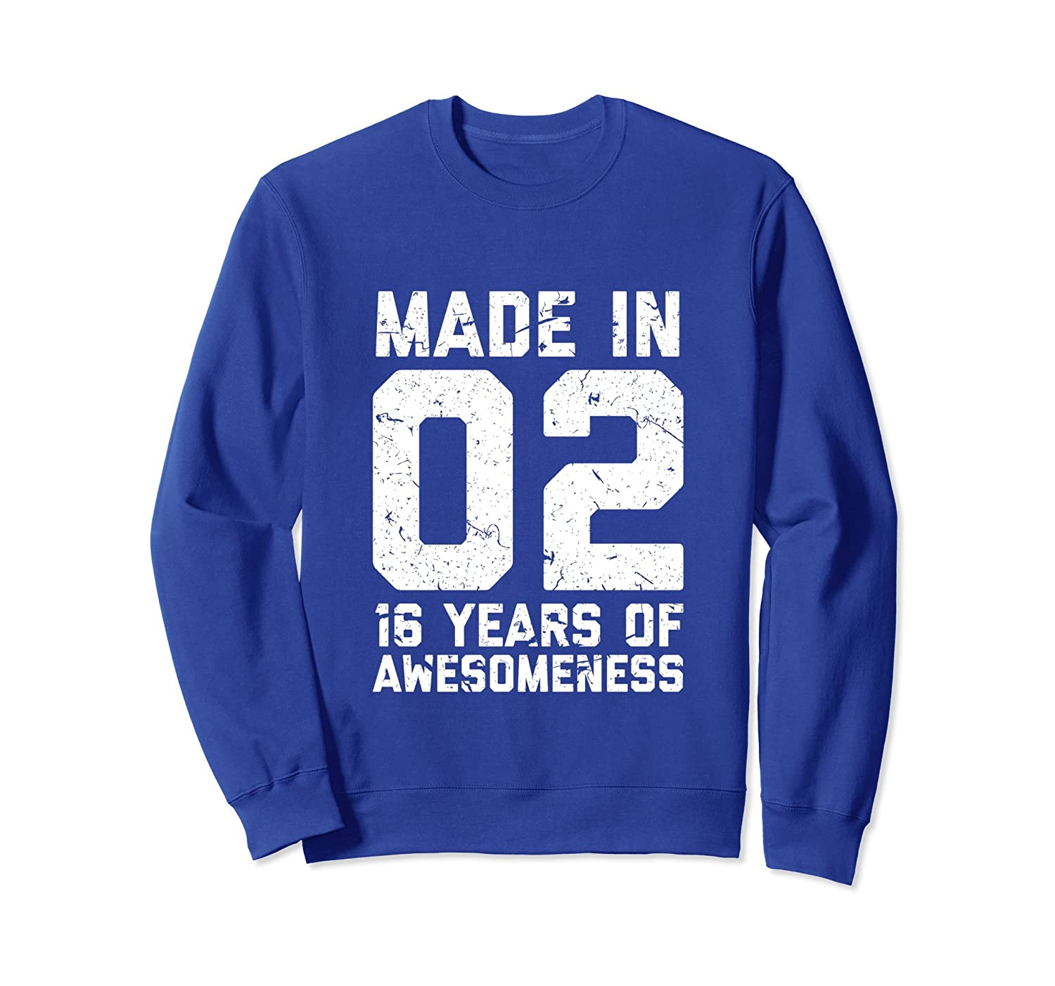 16th Birthday Sweatshirt Gift Girl Boy Age 16 Year Old Girls-TH