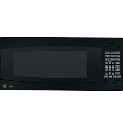 GE Profile Spacemaker II: PEM31DMBB 1.0 Cu. Ft. Countertop Microwave Oven  With 800
