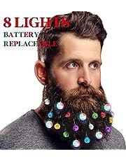 Classical Beard Ornaments Christmas Beard