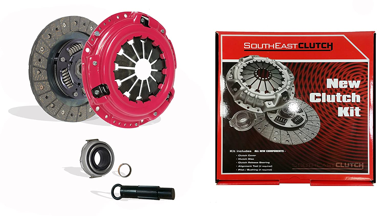 southeast-clutch etapa 1 Kit de embrague Honda Civic, del sol 1.5L 1.6L D15 D16: Amazon.es: Coche y moto