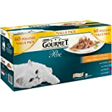 Purina Gourmet Perle Wet Cat Food Mini Fillets in Gravy, 60 x 85 g - Chef's Collection
