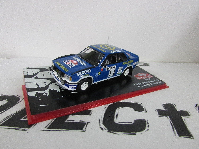 Voiture miniature Opel Ascona 400 - Rallye Monte Carlo 1981 - (1:43) - bleu Ixo