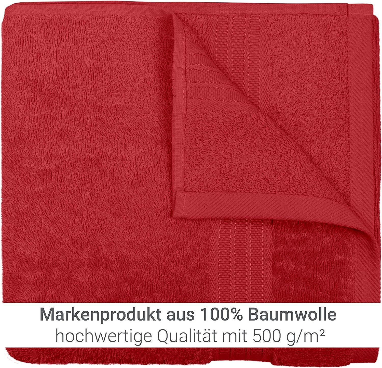 2 St/ück - Handt/ücher 1 Pack Dyckhoff Set Frottiert/ücher Enjoy Colour 50 x 100 cm Handtuch 1459.2060 Petrol