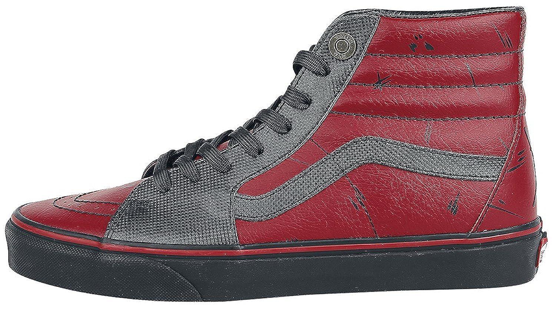Vans AUTHENTIC, AUTHENTIC, Vans Unisex-Erwachsene Sneakers (Marvel) Deadpool/schwarz 03d8c2