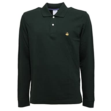Brooks Brothers - Polo - para hombre Verde X-Large: Amazon.es ...
