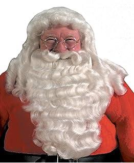 Deluxe Santa Beard and Wig Set Santa Wig and Beard Set Santa Claus Beard  and Wig a65b0585a0