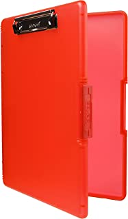 product image for Dexas 3517-J101 Slimcase 2 Storage Clipboard with Side Opening, Strawberry