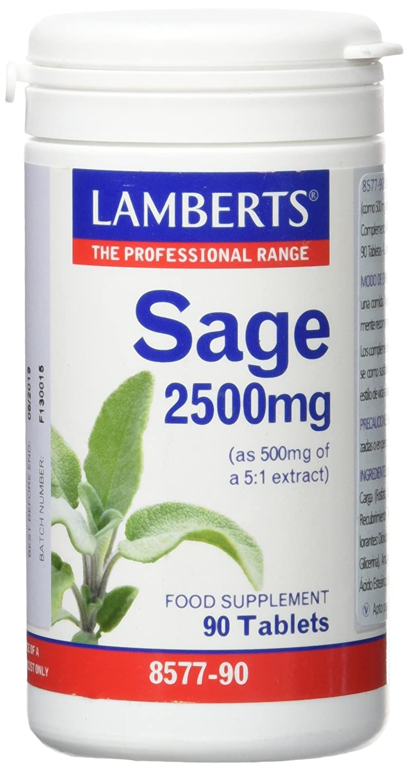 Lamberts Salvia 2500mg - 90 Tabletas