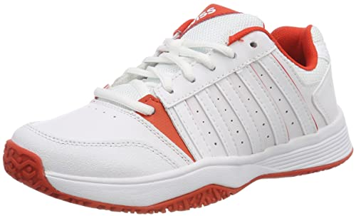 acbae35269093d K-Swiss Performance Unisex Kids  KS TFW Court Smash Omni Tennis Shoes