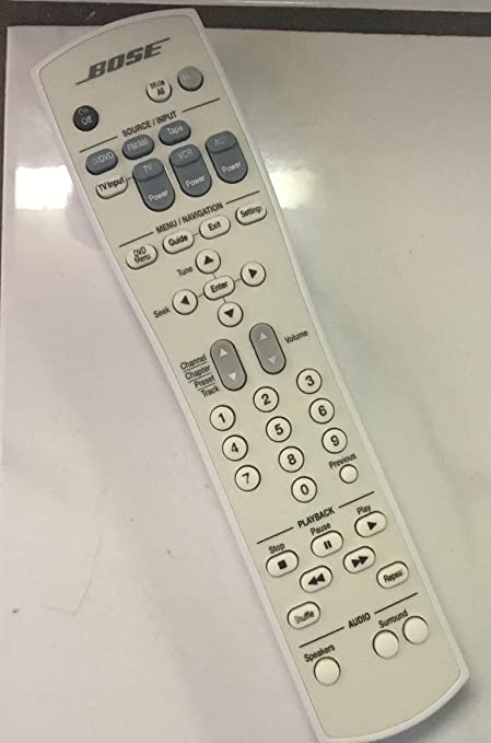 amazon com bose rc28t1 27 remote control for lifestyle 28 and 35