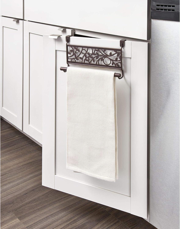 InterDesign - Vine - Toallero para Colocar sobre Perfil de gabinete, para la Cocina o el baño - Bronce: Amazon.es: Hogar