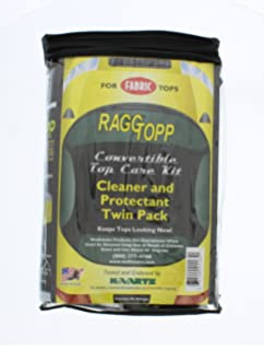 raggtopp convertible top care kit fabric cleaner and protectant twin pack amazoncom bmw z3 convertible top