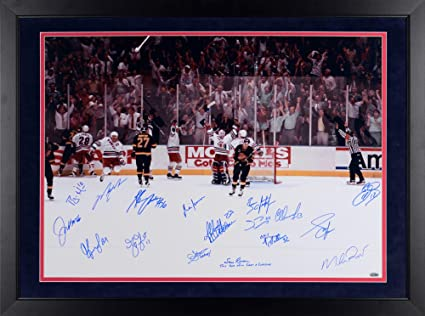 7cf5023696f New York Rangers Framed Autographed 24