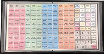keyboard cover Sam4S SPS-320 ER-920 ER-940 SPS-340 a KlearSee Cover