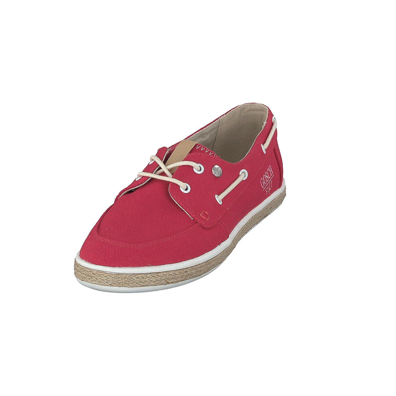 GOSCH SHOES Damen Schuhe Segelschuhe Canvas 7112-302 in 2 Farben (39, Rot)