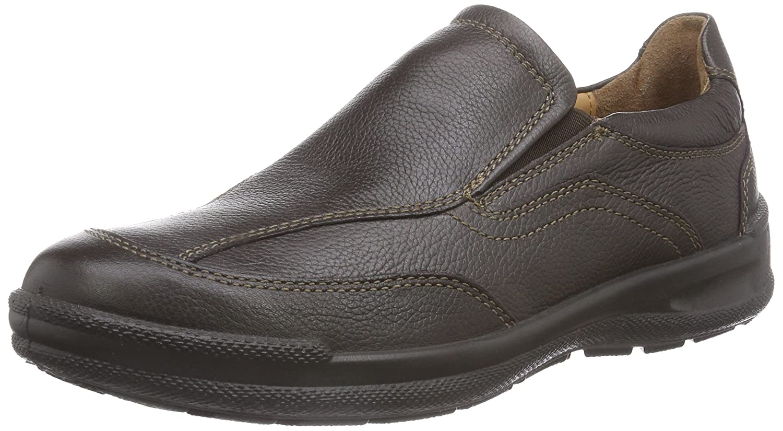 Jomos Man Life - Zapatillas de casa de Cuero Hombre 42 EU|Marrón - Braun (Santos 37-370)