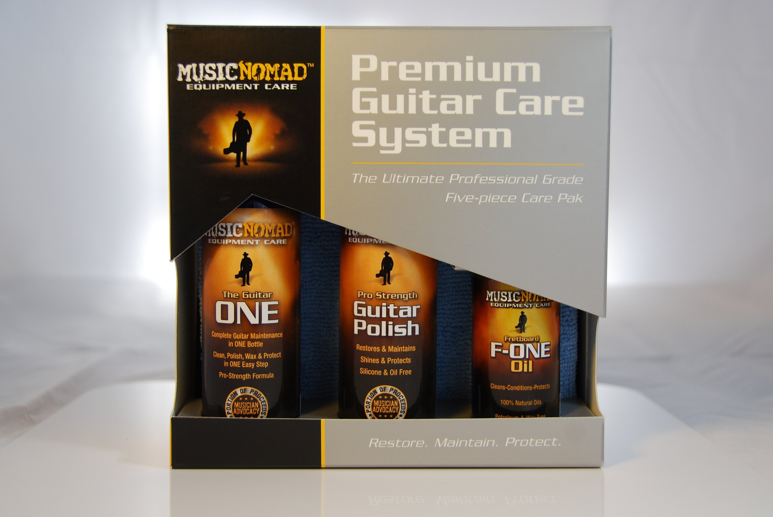 Music Nomad MN108 Premium Guitar Care 5-Piece Kit by MusicNomad