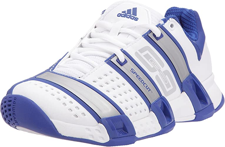 Blanc Stabil adidas indoor W Chaussures Optifit Femme LRjq5A34