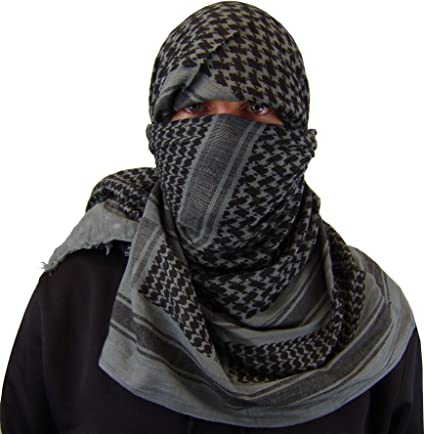 AK47 Zephyr Tactical Shemagh Tactical Desert Scarf Olive