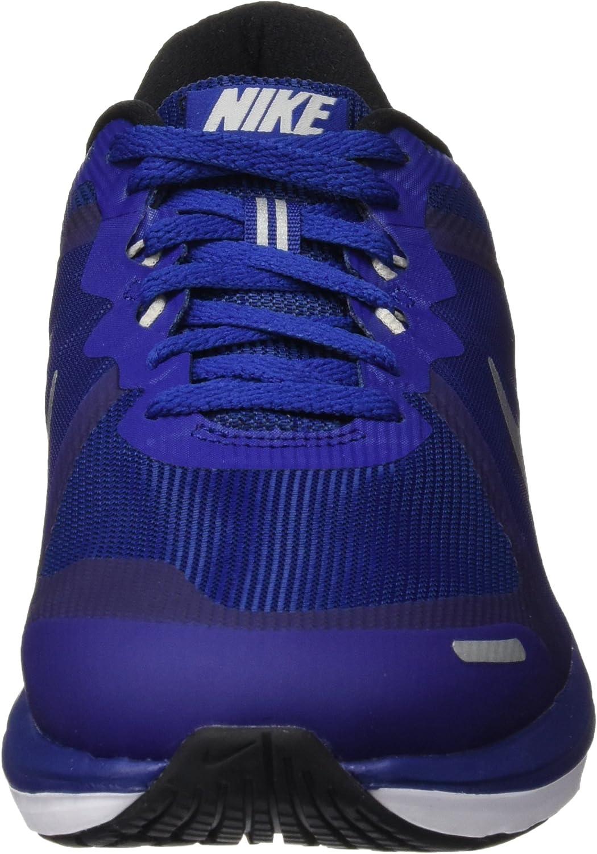 Nike Dual Fusion X 2 - Zapatillas de running, Hombre, Azul/Plateado/Negro (Dp Ryl Bl/Mtllc Slvr-Blk-Rflct), 46: Amazon.es: Zapatos y complementos