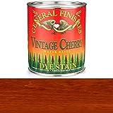 General Finishes DQV Water Based Dye, 1 quart, Vintage Cherry