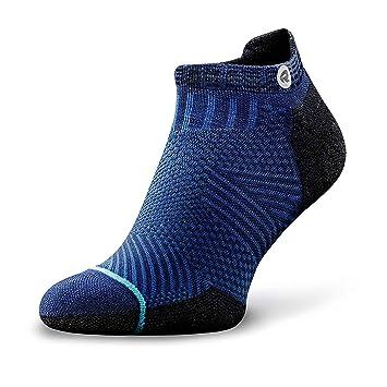 df37e66f407 Rockay Accelerate Anti-Blister Running Socks for Men and Women Organic  Merino Wool   Compression