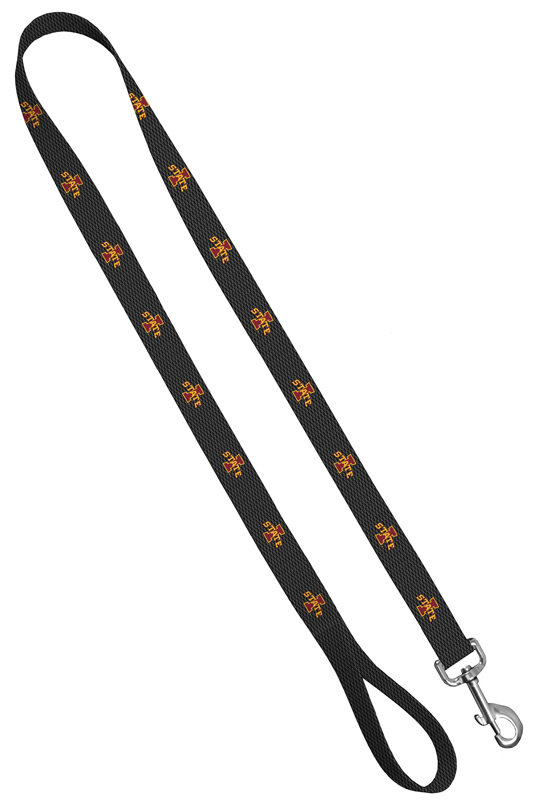 Moose Pet Wear Dog Leash – Iowa State University Cyclones Pet Leash, Made in the USA – 1 Inch Wide