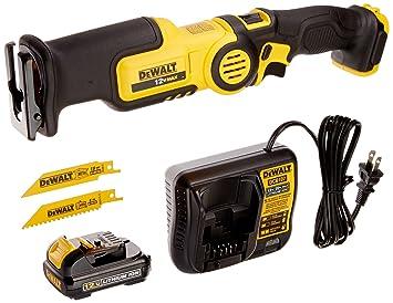 Dewalt dcs310s1 12 volt max pivot reciprocating saw kit power dewalt dcs310s1 12 volt max pivot reciprocating saw kit greentooth Images