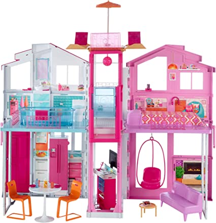 Barbie 3 Story Dream House 2015 replacement part Pink Chandelier