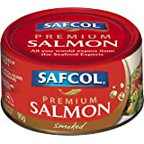Safcol Australia SAFCOL Premium Salmon Naturally Smoked 95g Can, 12 Pack, 1 x 1.14 kg