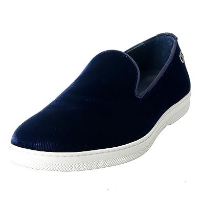 """Leblanc"" Men's Velour Loafers Slip On Casual Shoes US 10.5EE IT 9.5EE EU 43.5EE"