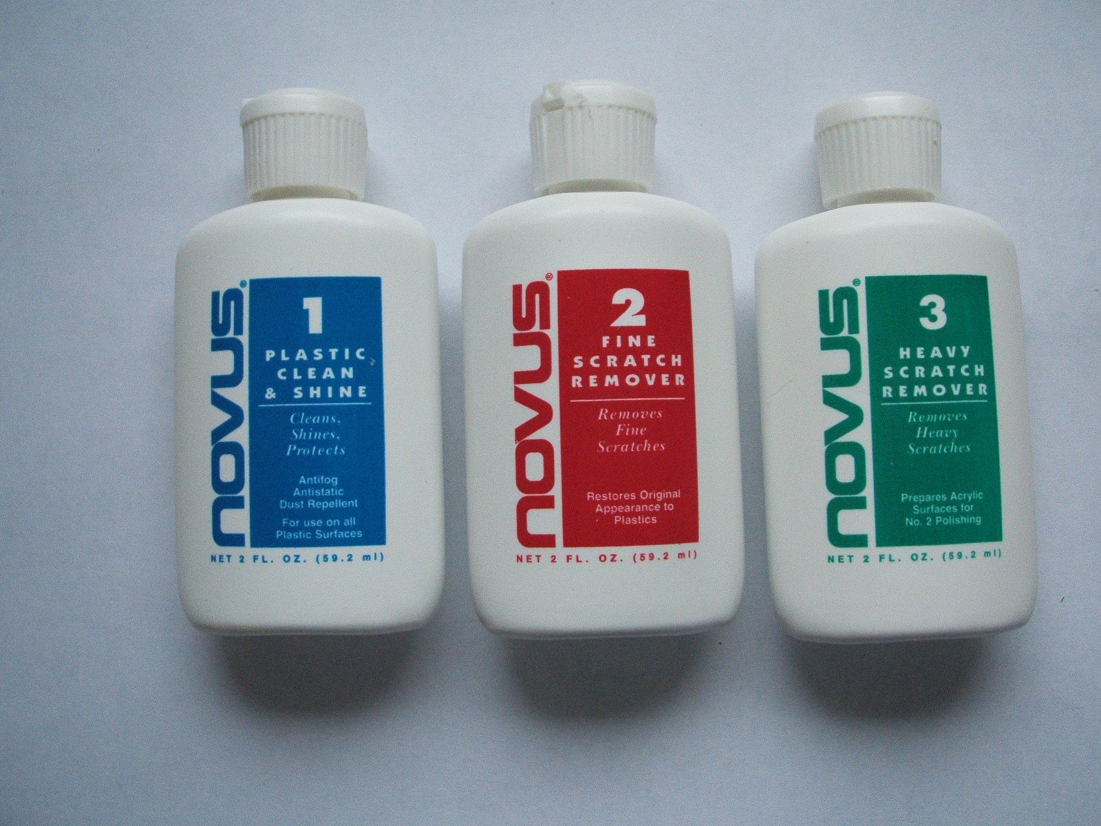 5 NEW NOVUS FINE SCRATCH REMOVER ONE APPLICATION SIZE