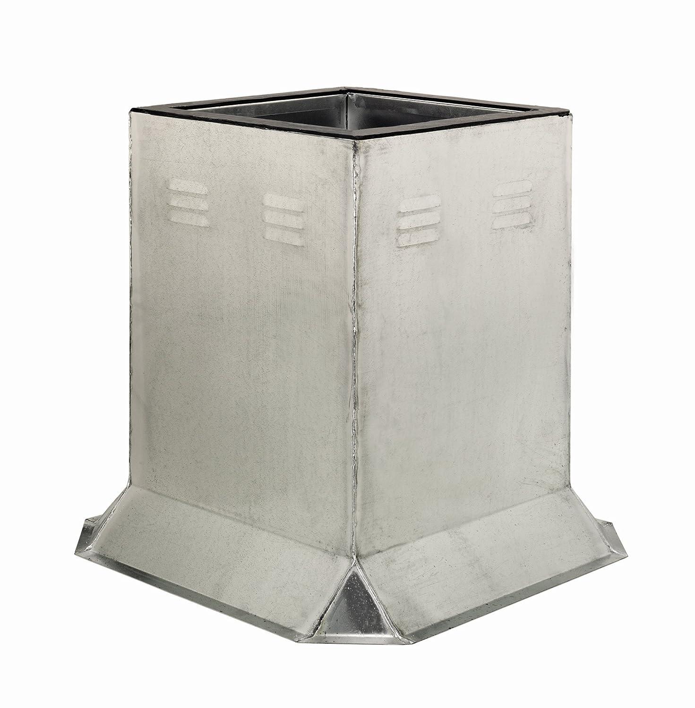 Fantech 5ACC17VC Flat Roof Curb 17-1//2 x 24 H 17-1//2 x 24 H Ventilated