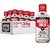 Muscle Milk Original Protein Shake, Cookies 'N Crème, 34g Protein, 17 FL OZ (Pack of 12)