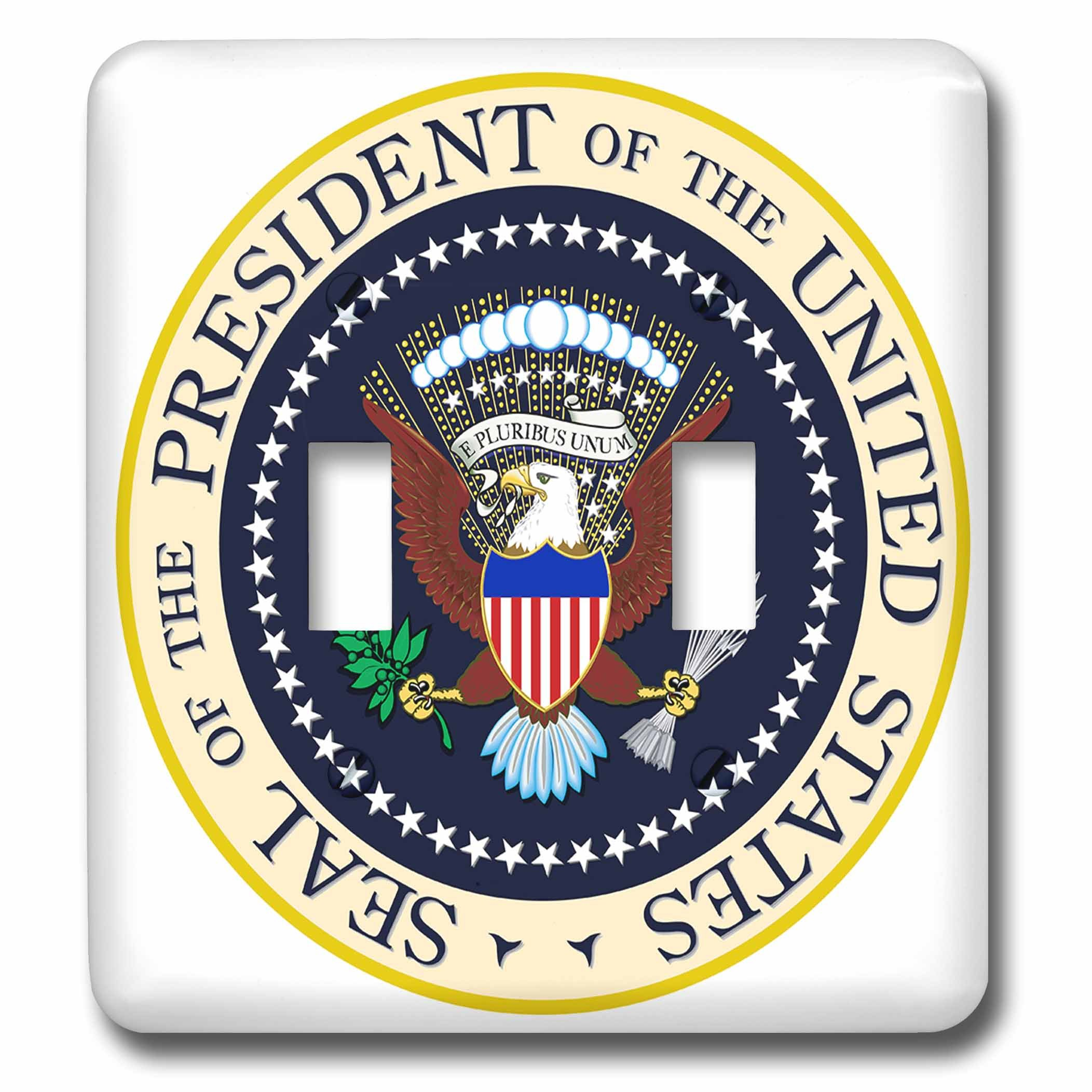 3dRose lsp_173266_2 Seal of The President of The USA Double Toggle Switch