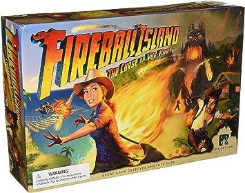 Avalon Hill Fireball Island: The Curse of Vul Kar: Amazon.es ...