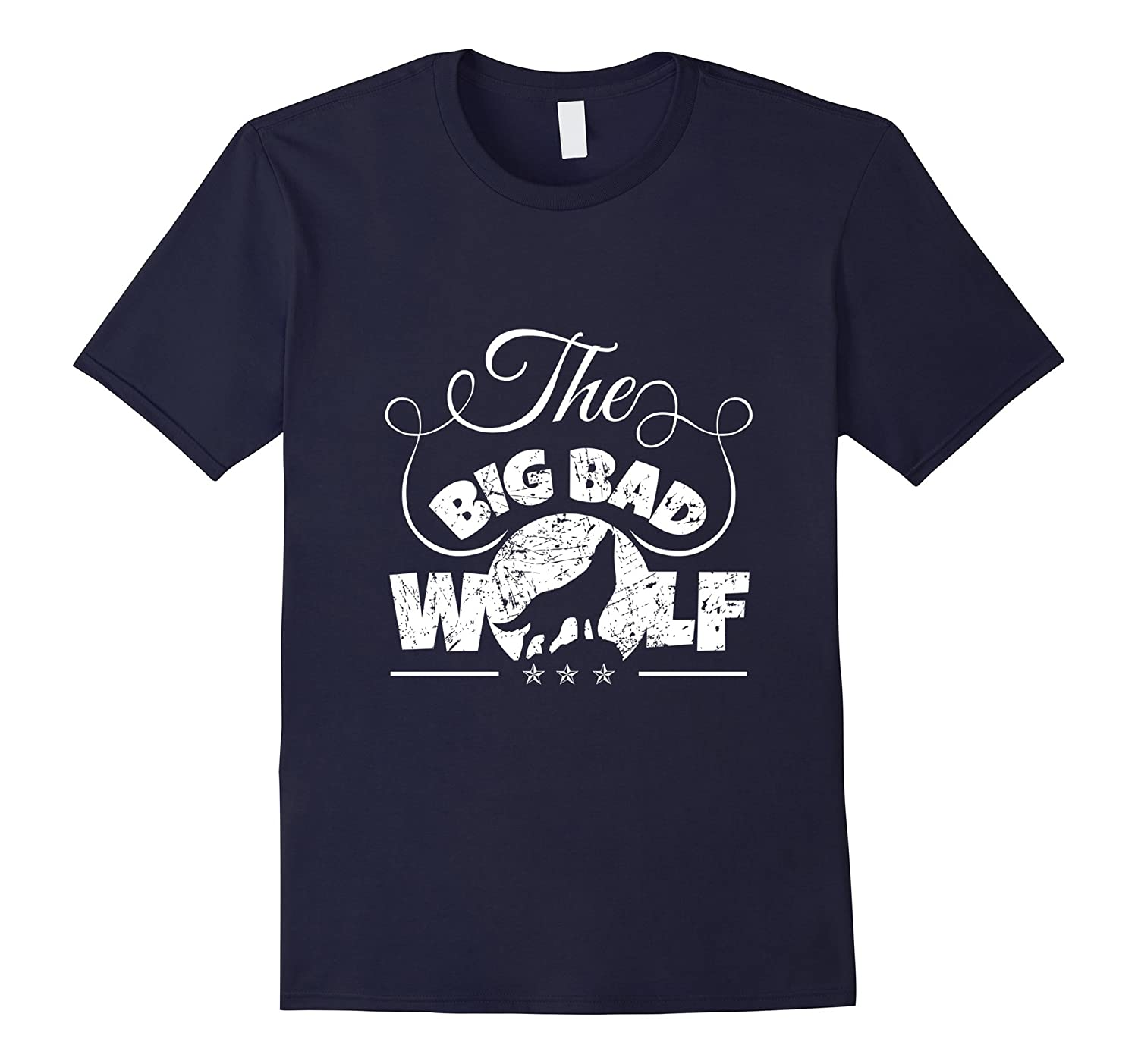 The Big Bad Wolf Graphic T-shirt - Big Bad Wolf Apparel-FL