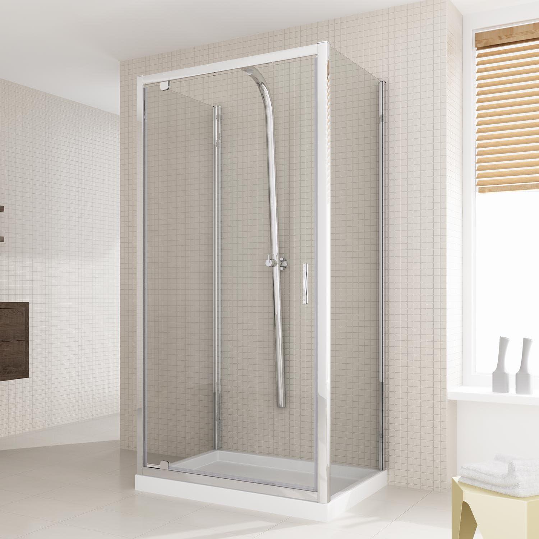 Cabina de ducha U Tipo de 75 x 100 x 75 cm H198 cristal trío de ...