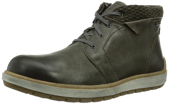 Josef Seibel RUDI 08, Botines para Hombre, Vulcano 707, 45 EU: Amazon.es: Zapatos y complementos