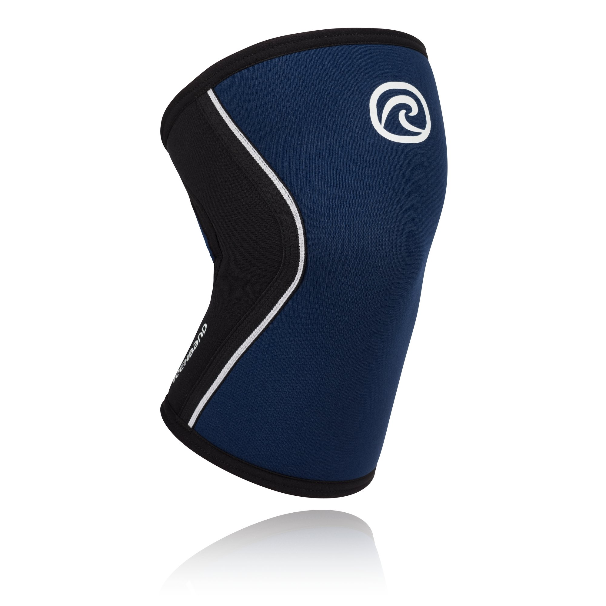 Rehband Rx Knee Support 5mm - X-Small - Navy - Expand Your Movement + Cross Training Potential - Knee Sleeve for Fitness - Feel Stronger + More Secure - Relieve Strain - 1 Sleeve