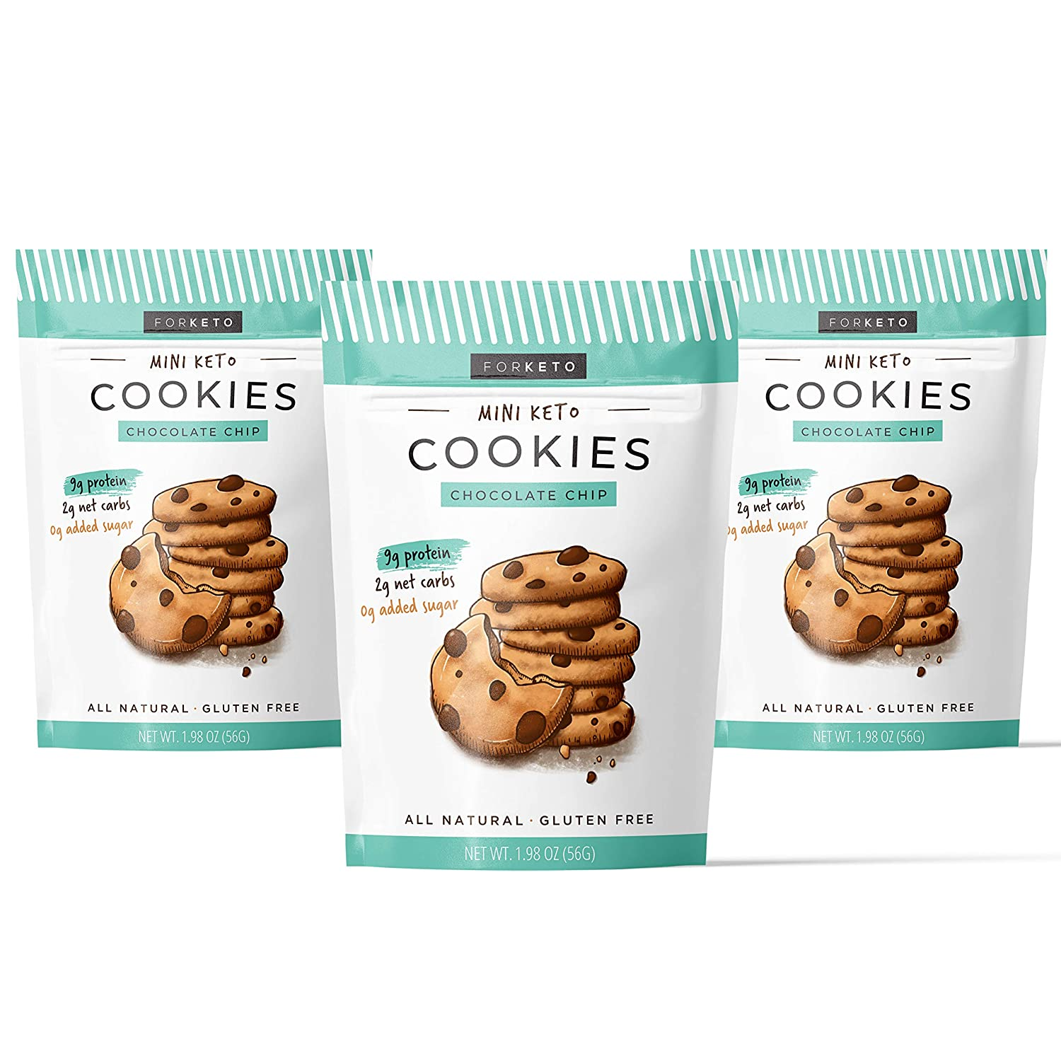FORKETO Best Keto Chocolate Chip Cookies