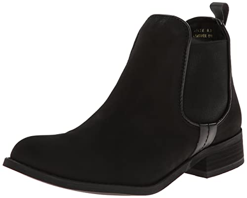 2591145b1fb Steve Madden, Women, Boots, gilte, Black (Black Nubuck), 5.5: Amazon ...
