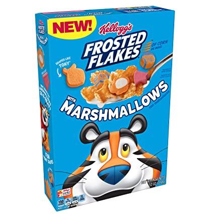 Ibotta Kellogg's Frosted Flakes Cereal with Marshmallows