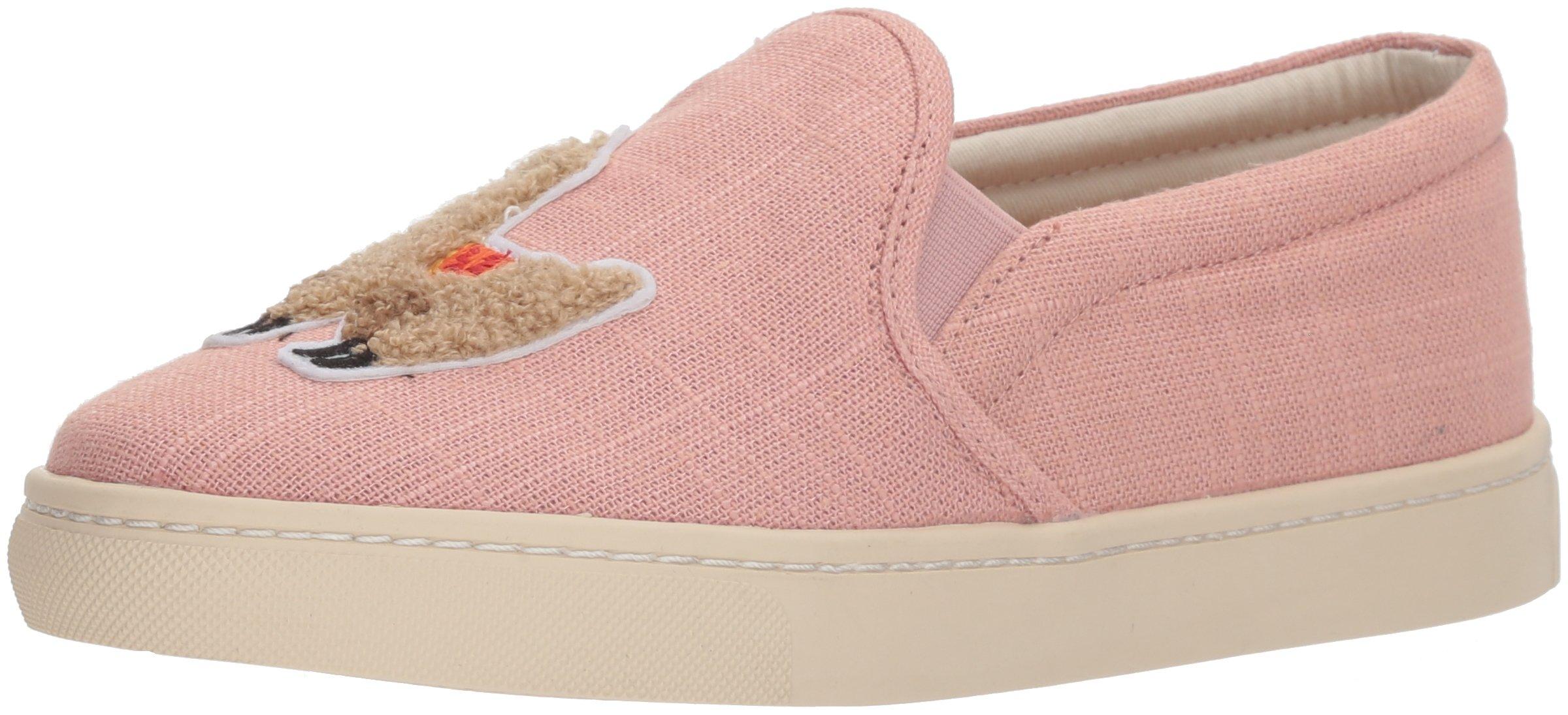 Soludos Women's Llama Slip Sneaker, Dusty Rose, 9 Regular US