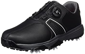 huge selection of de830 49670 adidas Mens 360 Traxion Boa Wd Golf Shoes, Black (Core BlackWhite