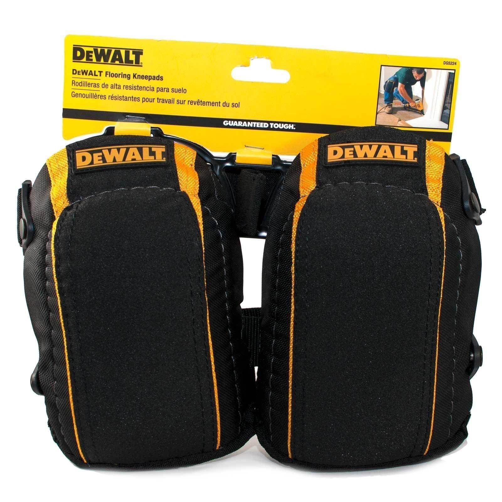 DeWalt Flooring Kneepads / Knee Pads Guaranteed Tough High Density Closed- Cell Foam