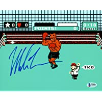 $101 » Autographed Mike Tyson Photograph - 8x10 Punch Out Beckett BAS Stock #159661 - Beckett Authentication