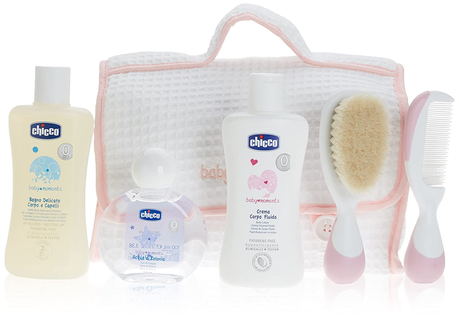 Bagno Chicco : Chicco baby moments beauty all you need geschenkbox rosa: amazon.de
